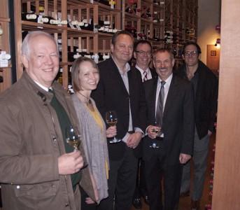 (left to right): Dr. Hennie van Vuuren, Amy Frye, Derek Sturko, Larry Sproul, Dr. Murray Isman, Dr. Sean Smukler