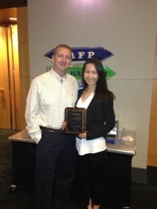 Dr. Kevin Allen with Jayde Wood