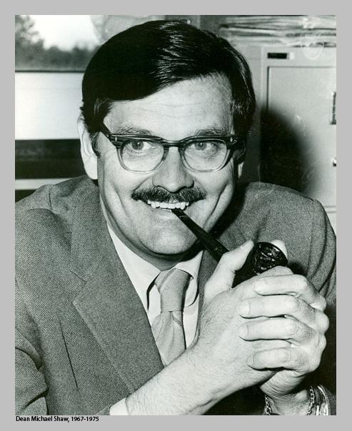 Dean Emeritus Dr. Michael Shaw