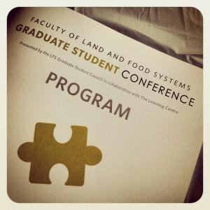 LFS Grad Student Conference program