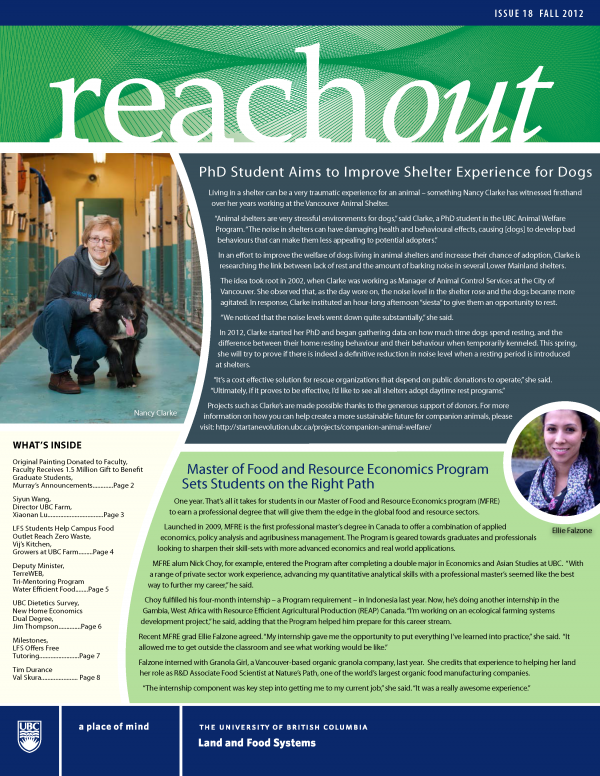 Reach Out Issue 19 Spring 2013