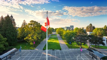 UBC-flagpole
