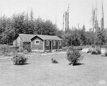 UBC Botanical Gardens Administration Building, 1929 (University of British Columbia Library)